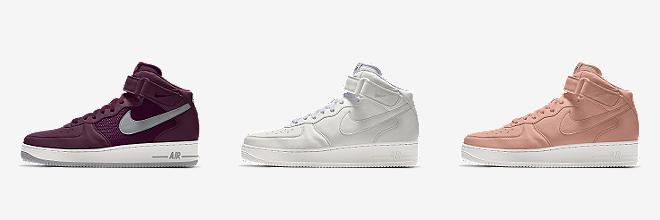 a6ed18ce0ce Nike Air Force 1 High By You. Calzado para mujer personalizado.  88.990.  PERSONALÍZALOS PERSONALÍZALO CON NIKE BY YOU