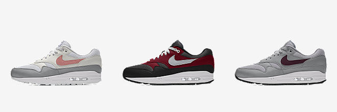 newest 0e87d 27c8f Nike Air Max 1 By You. Custom Men s Shoe.  150. Customize CUSTOMIZE IT WITH  NIKE BY YOU