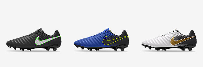 Prev. Next. 6 Colours. Nike Tiempo Legend VII Academy iD. Football Boot