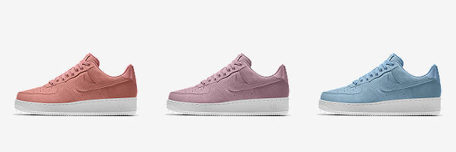 Prev. Next. 6 Colours. Nike Air Force 1 Low Premium iD. Women's Shoe
