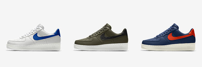 NIKE AIR FORCE granate