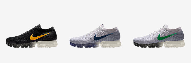 Nike Air VaporMax Flyknit. Men's Running Shoe. $190. Customize CUSTOMIZE IT  WITH NIKEiD