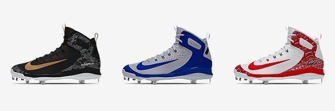 Nike Alpha Huarache Elite Mid iD Mens Baseball Cleat 115 Customize CUSTOMIZE IT WITH NIKEiD