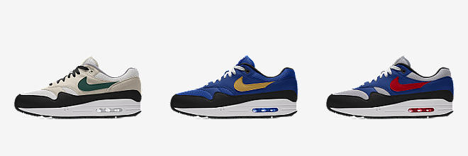 next 6 colors nike air max 1 id mens shoe