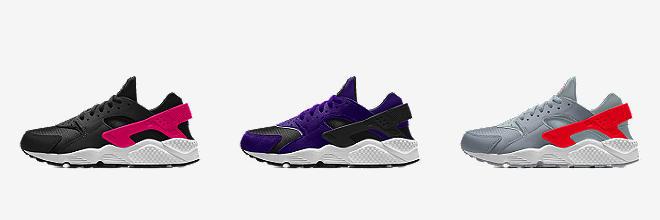 nike huarache womens purple