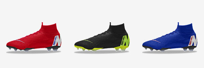 8507ed05dd9 Customize CUSTOMIZE IT WITH NIKE BY YOU. Prev. Next. 6 Colors. Nike  Mercurial Superfly 360 Elite FG By You. Custom Firm-Ground Soccer Cleat.   295