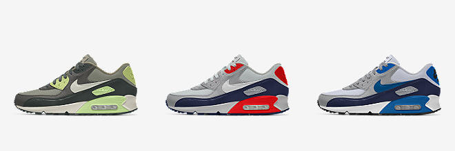 fbcac28c90 Nike Air Max 90 By You. Custom Men's Shoe. $130. Customize CUSTOMIZE IT  WITH NIKE BY YOU