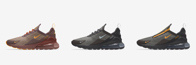 7951b68382d Nike Air Max 270. Men s Shoe.  150. Customize CUSTOMIZE IT WITH NIKE BY YOU