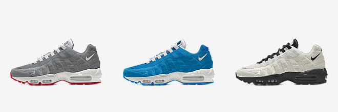 detailing a4197 dcaa0 6 Colors. Nike Air Max 95 By You. Custom Men s Shoe.  180. Customize  CUSTOMIZE IT WITH NIKE BY YOU
