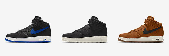 official photos dc566 5ea98 CUSTOMISE CUSTOMISE IT WITH NIKE BY YOU. Prev. Next. 7 Colours. Nike Air  Force 1 Mid By You. Custom Men s Shoe