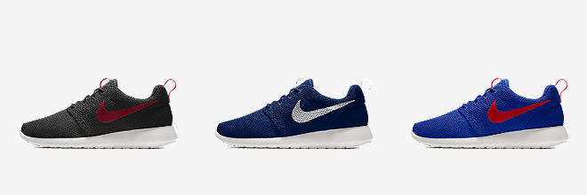 c0ee06a3fc94 Customize CUSTOMIZE IT WITH NIKE BY YOU. Prev. Next. 7 Colors. Nike Roshe  One By You. Custom Men s Shoe