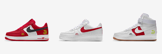 outlet store 00762 dced8 PERSONALISIERBARE NIKE BY YOU AIR FORCE 1 SCHUHE (44)
