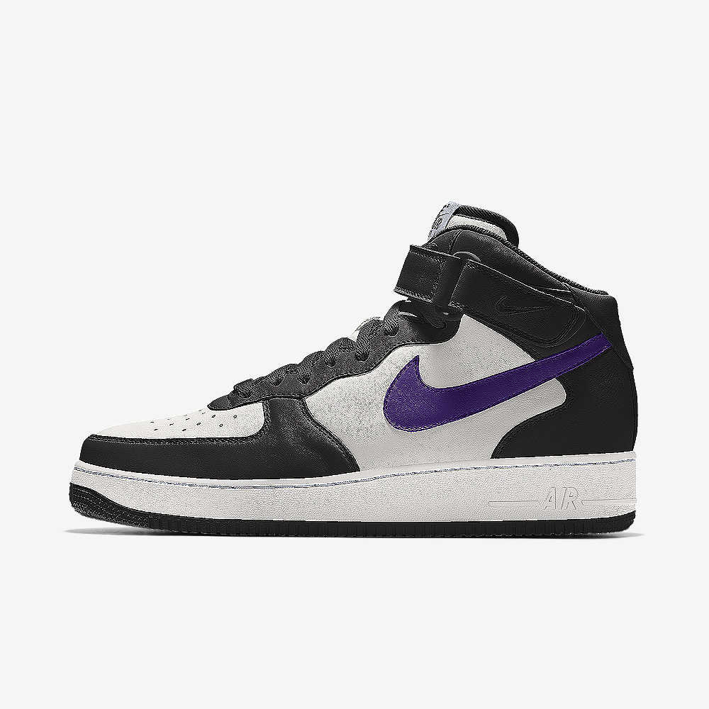 uk availability 3ca0b f9725 Nike Air Force 1 Mid By You Custom Shoe