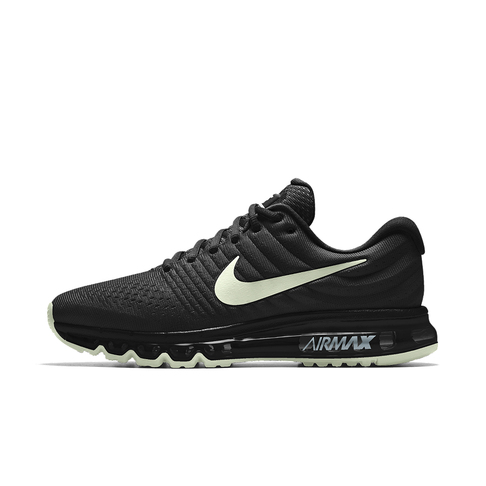 e13df351adb Nike Air Max 2017 iD Men's Running Shoe Size 9 (Black) | Shop Your ...