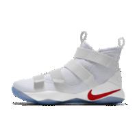 <ナイキ(NIKE)公式ストア>レブロン ソルジャー 11 iD メンズ バスケットボールシューズ AO2577-993 ホワイト画像