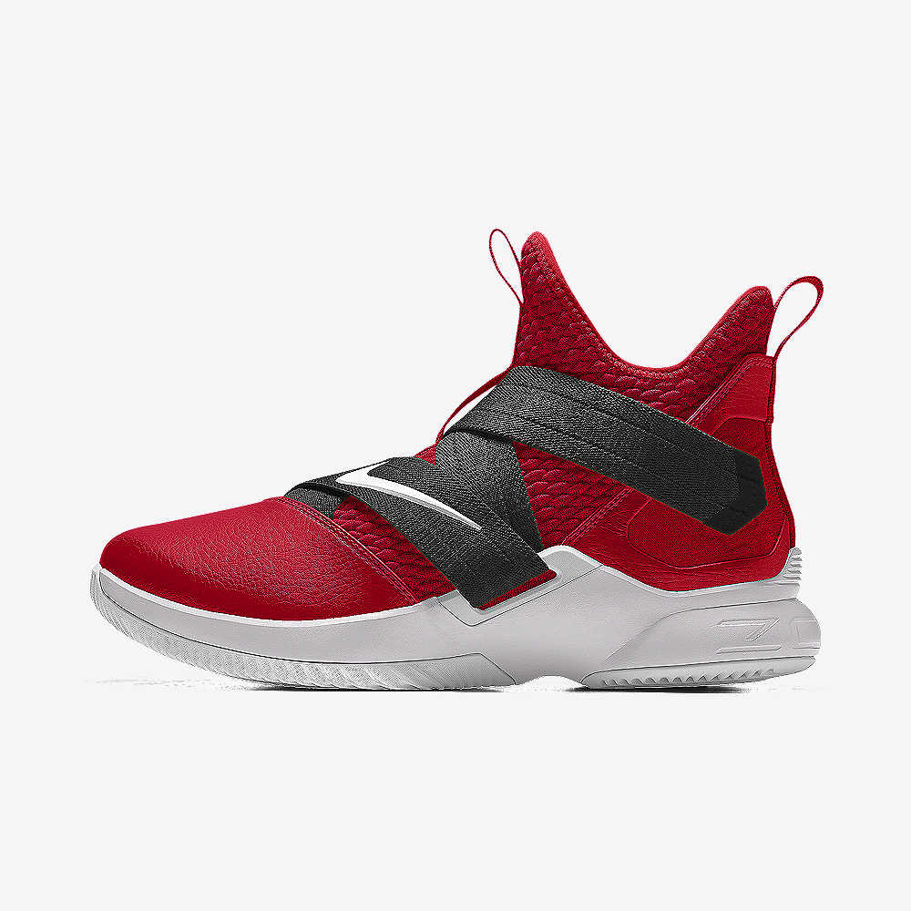 LeBron Soldier XII By You Basketball Shoe. Nike.com 64e497f741
