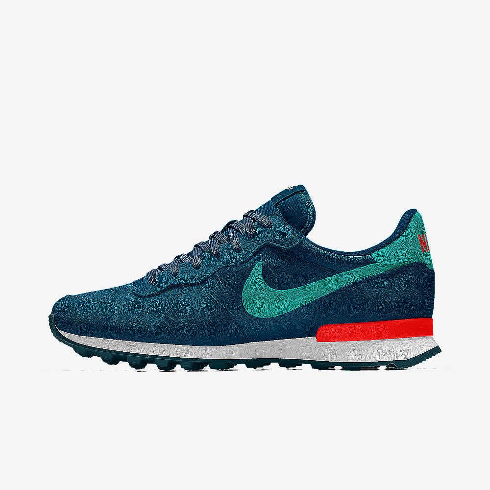 Nike roshe run blue and pink