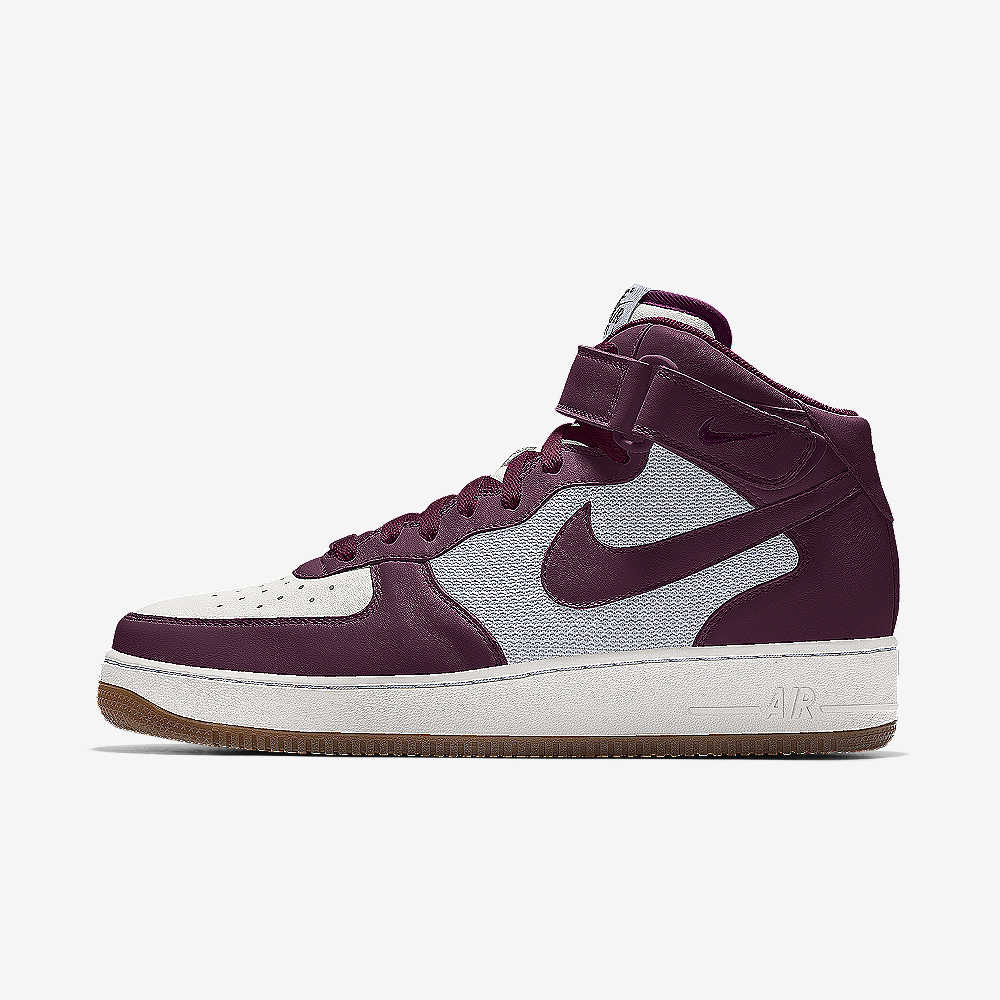 Nike Air Force 1 Mid By You Custom Shoe. Nike.com 6d12b2ec29