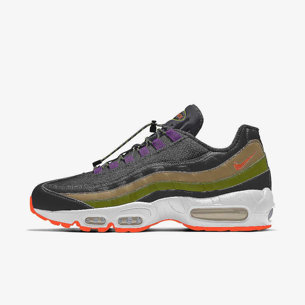 pas cher pour réduction 4e002 5faf4 Nike Air Max 95 Premium By You Custom Shoe