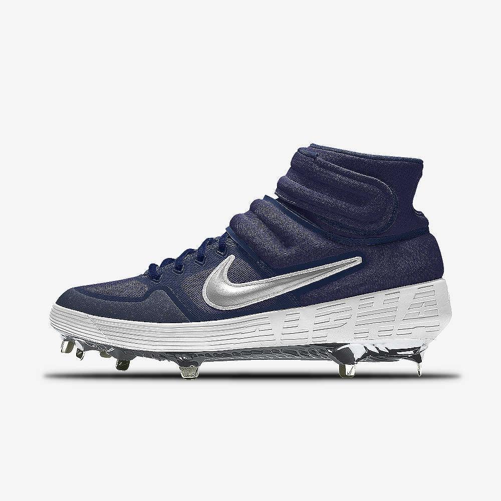 1ba6d4209250 Nike Alpha Huarache Elite Mid Premium By You Baseball Cleat. Nike.com