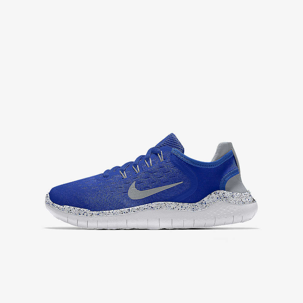 0934bc2480e997 Nike Free RN 2018 By You Big Kids  Running Shoe