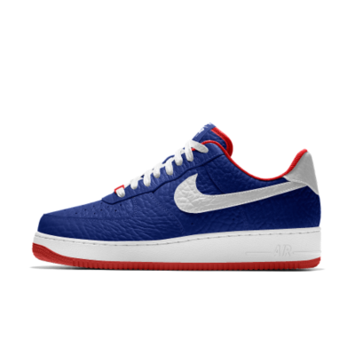 Nike Air Force 1 Low Premium iD (Philadelphia 76ers) Men's Shoe