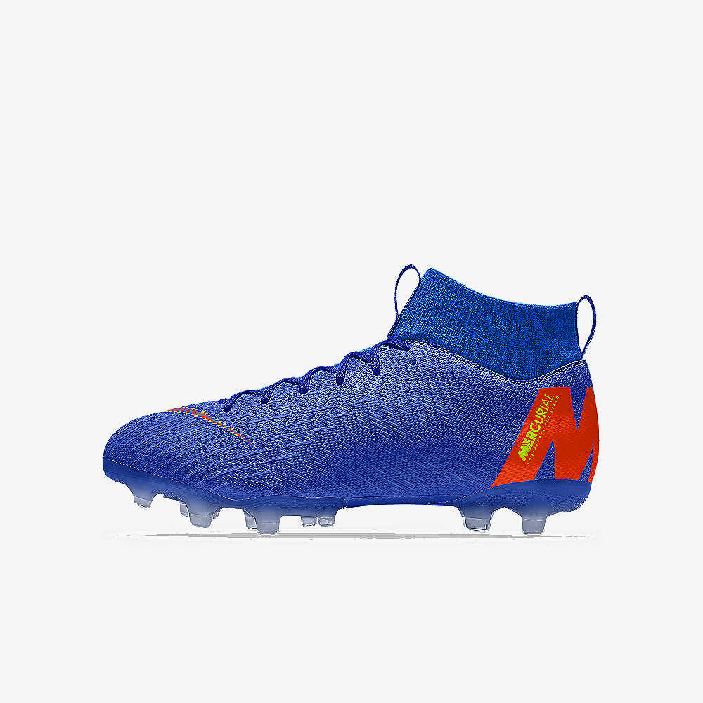 innovative design 4f24b 5c2fe Nike Jr. Mercurial Superfly VI Academy By You Soccer Cleat. Nike.com