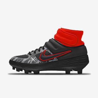 PERSONALIZAR. Nike Alpha Huarache Elite 2 Mid MCS Premium By You. Botas de  béisbol 561a7863fac7d