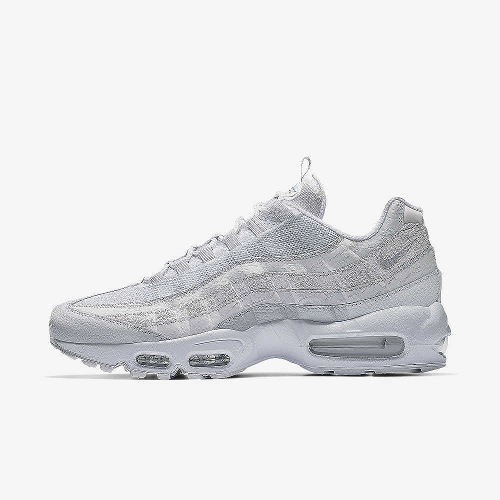 hot sale online 4194d 2666a Nike Air Max 95 iD Winter White Shoe