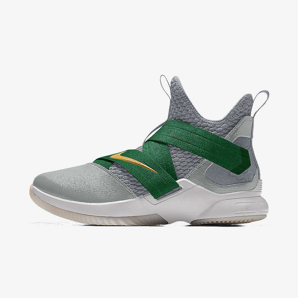 96b5ccfa23fb LeBron Soldier XII By You Basketball Shoe. Nike.com UK