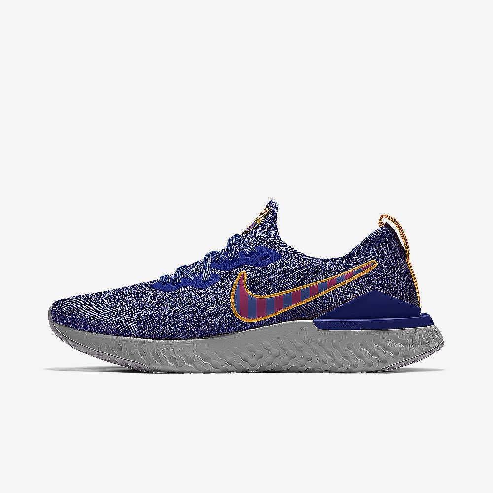 908a14d9912 Nike Epic React Flyknit 2 FCB By You Custom Running Shoe. Nike.com LU