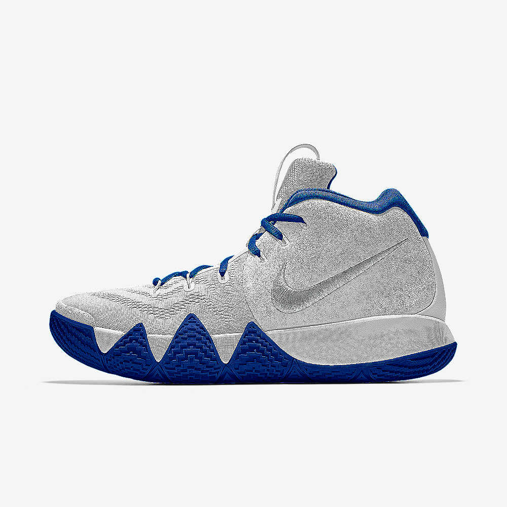 9296fffd5042 ... Irving Unveils the KYRIE 1 NIKEiD Shoe in Brooklyn Ton Kyrie 4 iD  Basketball Shoe.