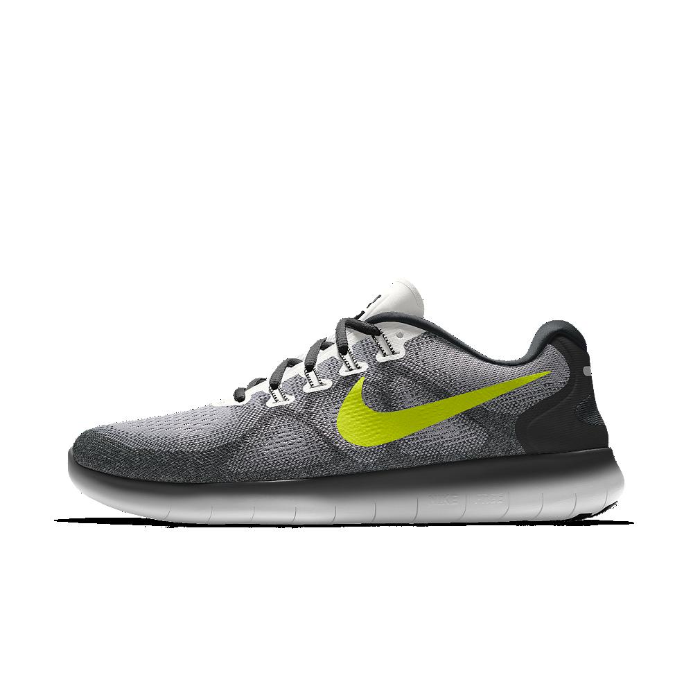 1a6fabab923a Nike Free RN 2017 iD Men s Running Shoe Size 8.5 (Grey)