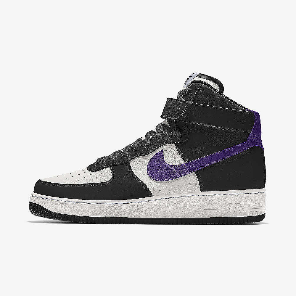 new style cc1bd 47093 Nike Air Force 1 High By You Custom Shoe