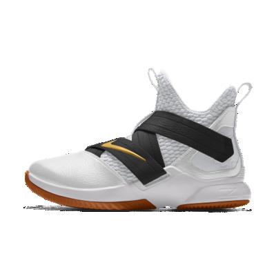 <ナイキ(NIKE)公式ストア>レブロン ソルジャー 12 iD メンズ バスケットボールシューズ AR6333-991 ホワイト 【NIKEiD】 30日間返品無料 / Nike+メンバー送料無料画像