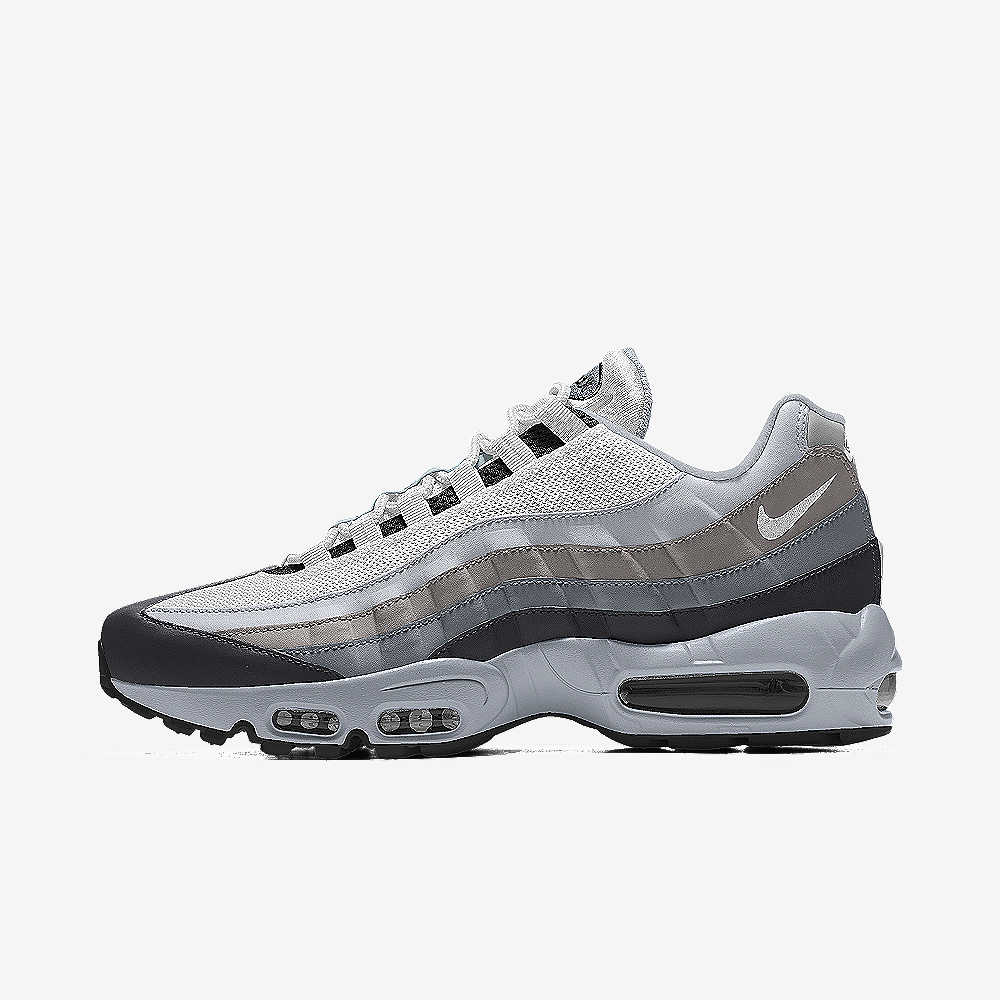Nike Air Max 95 Black White Running Shoes