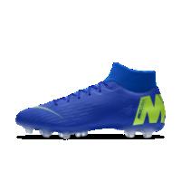 <ナイキ(NIKE)公式ストア>ナイキ マーキュリアル スーパーフライ VI アカデミー MG iD メンズ マルチグラウンド サッカースパイク AO1516-991 ブルー画像