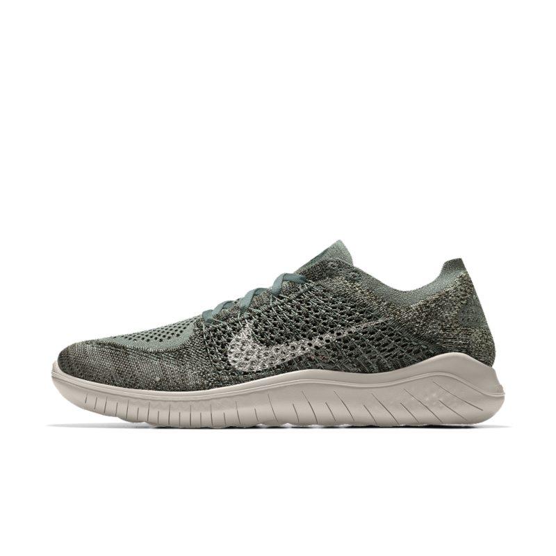 Nike Free RN Flyknit 2018 iD Women's Running Shoe - Grey