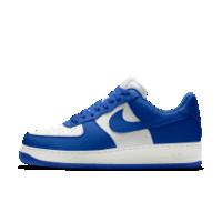 <ナイキ(NIKE)公式ストア>ナイキ エア フォース 1 LOW iD ジュニアシューズ AQ3773-991 ブルー画像