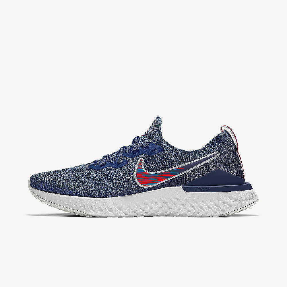 c113deac93f Chaussure de running personnalisable Nike Epic React Flyknit 2 PSG ...