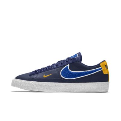 Nike Blazer Low Premium iD Men's Shoe - Blue