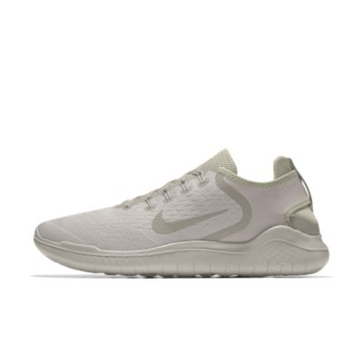 Nike Free RN 2018 iD Women's Running Shoe - Cream