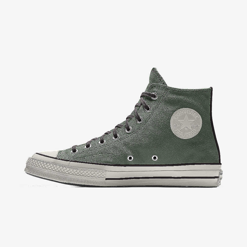 Kick back in these Converse All Star high-top shoes. Unisex sizing; M5 W7 = Men's size 5, Women's Size 7. SHOE FEATURES. Padded footbed offers lasting comfort.