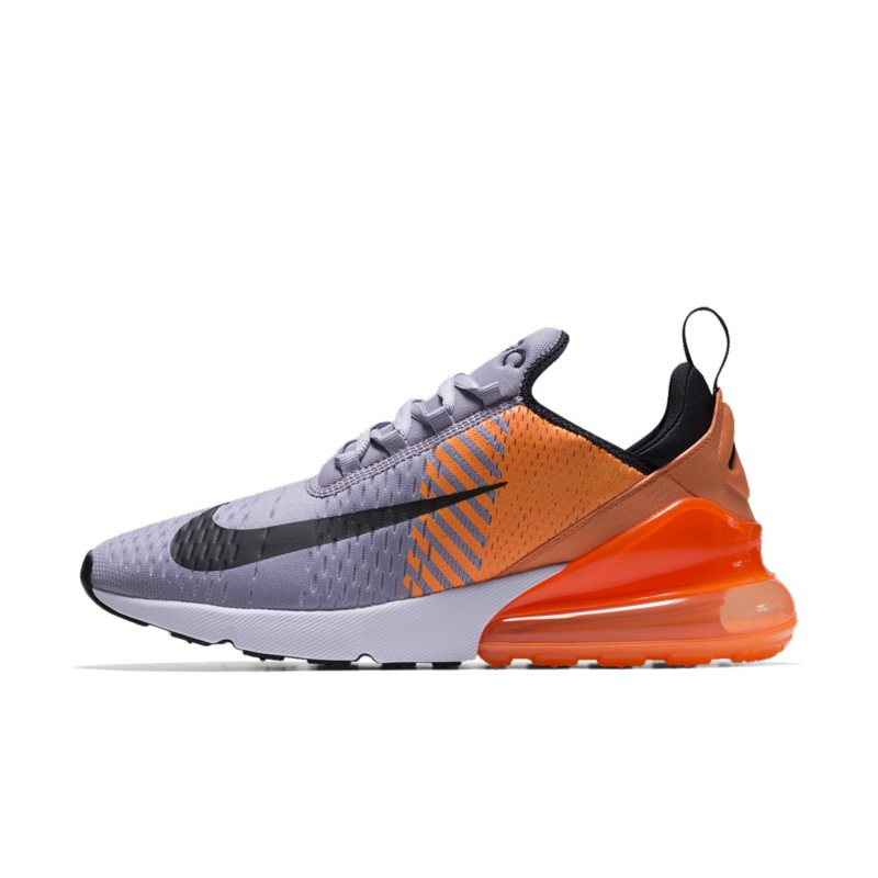 big sale 22fce f6949 Nike Air Max 270 Premium iD Men's Shoe - Silver | AT7467-993 | FOOTY.COM