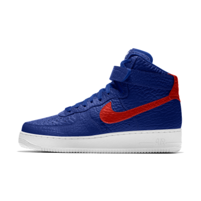 Image of Nike Air Force 1 High Premium iD (LA Clippers) Men's Shoe