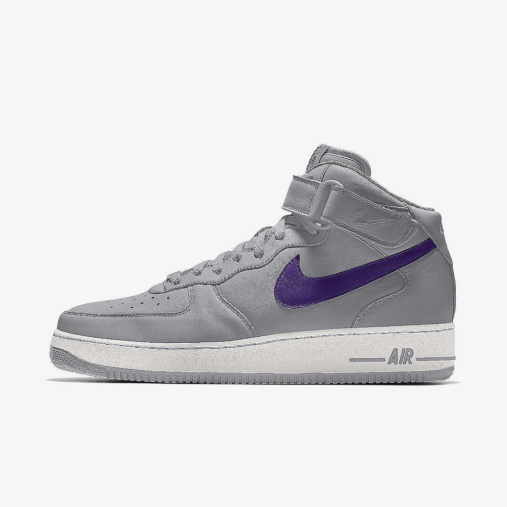 uk availability b1761 9bf7c Nike Air Force 1 Mid By You Custom Shoe