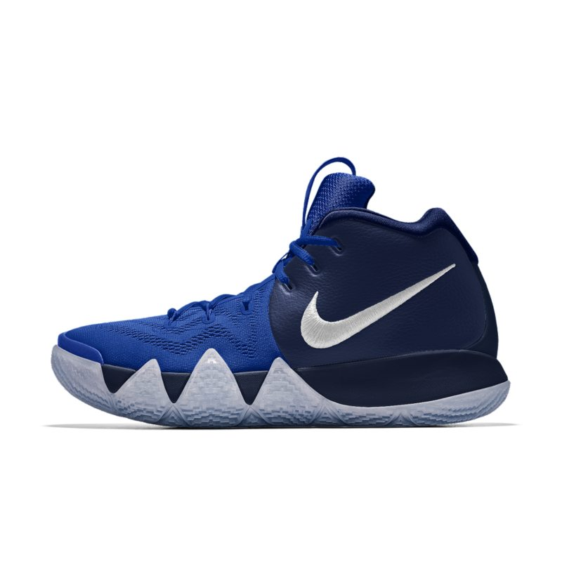1595c2e00d8 Nike Kyrie 4 iD Men s Basketball Shoe - Blue Image