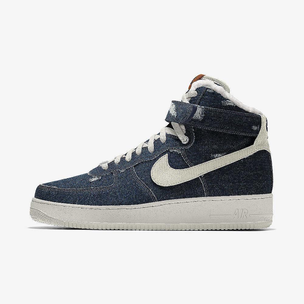 High You Air By 1 Levi's® Nike Force Custom Shoe RjLq34c5A