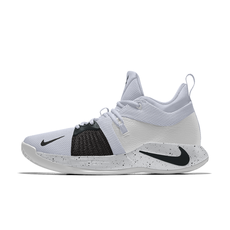 PG 2 iD メンズ バスケットボールシューズ CI0280-991 ホワイト 【NIKEiD】