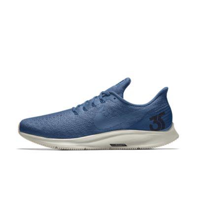 Nike Air Zoom Pegasus 35 iD Men's Running Shoe - Blue